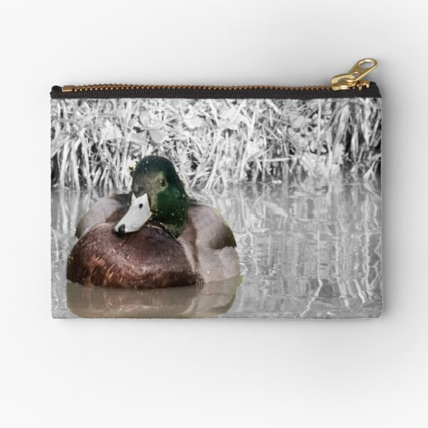 Duck on the water Napton on the hill Zipper Pouch