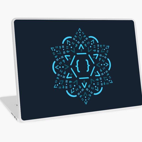 Code Mandala - React Framework Laptop Skin