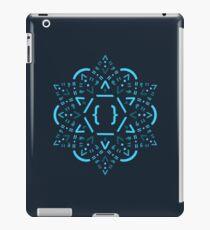 Code Mandala - React Framework iPad-Hülle & Skin