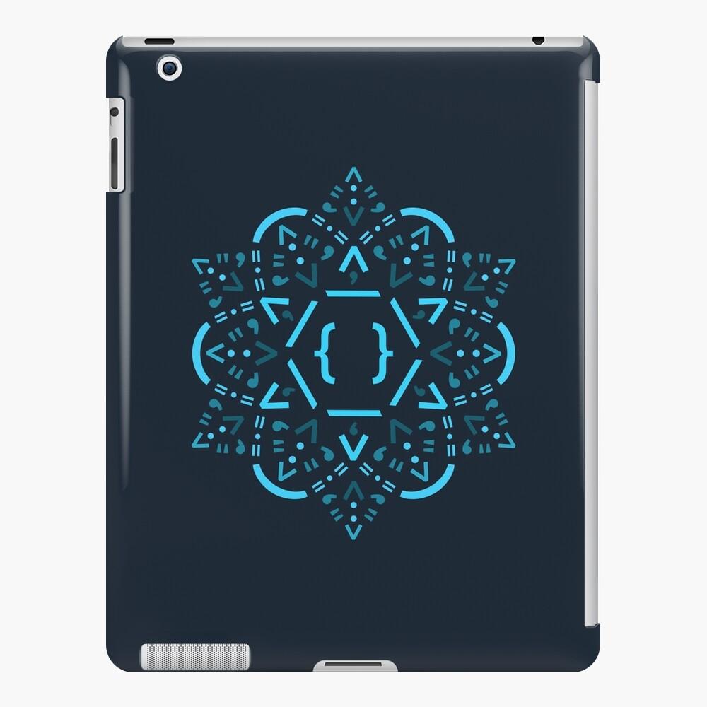 Mandala de código - Reaccionar el marco Funda y vinilo para iPad