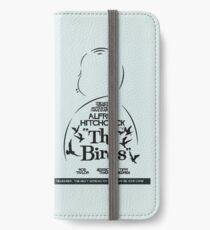 The Birds, Hitchcock Movie Poster, Horror Film, Classic Movie, Old Movie, Gli Uccelli iPhone Wallet/Case/Skin