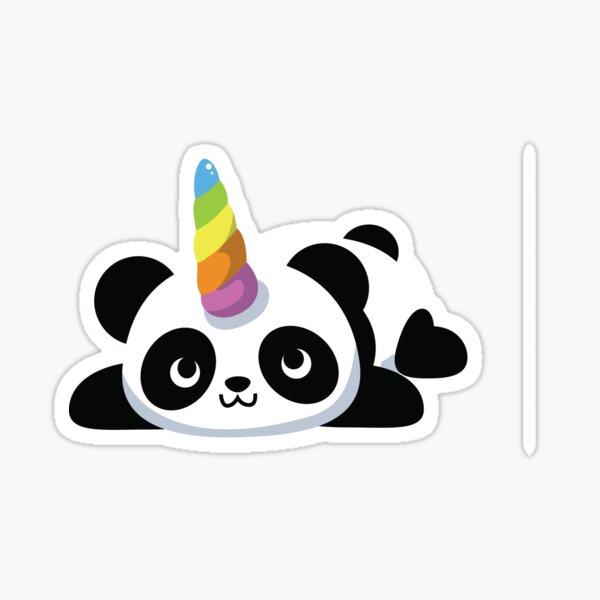 Pandicorn - Je suis un Pandicorn Cute Panda Unicorn Sticker