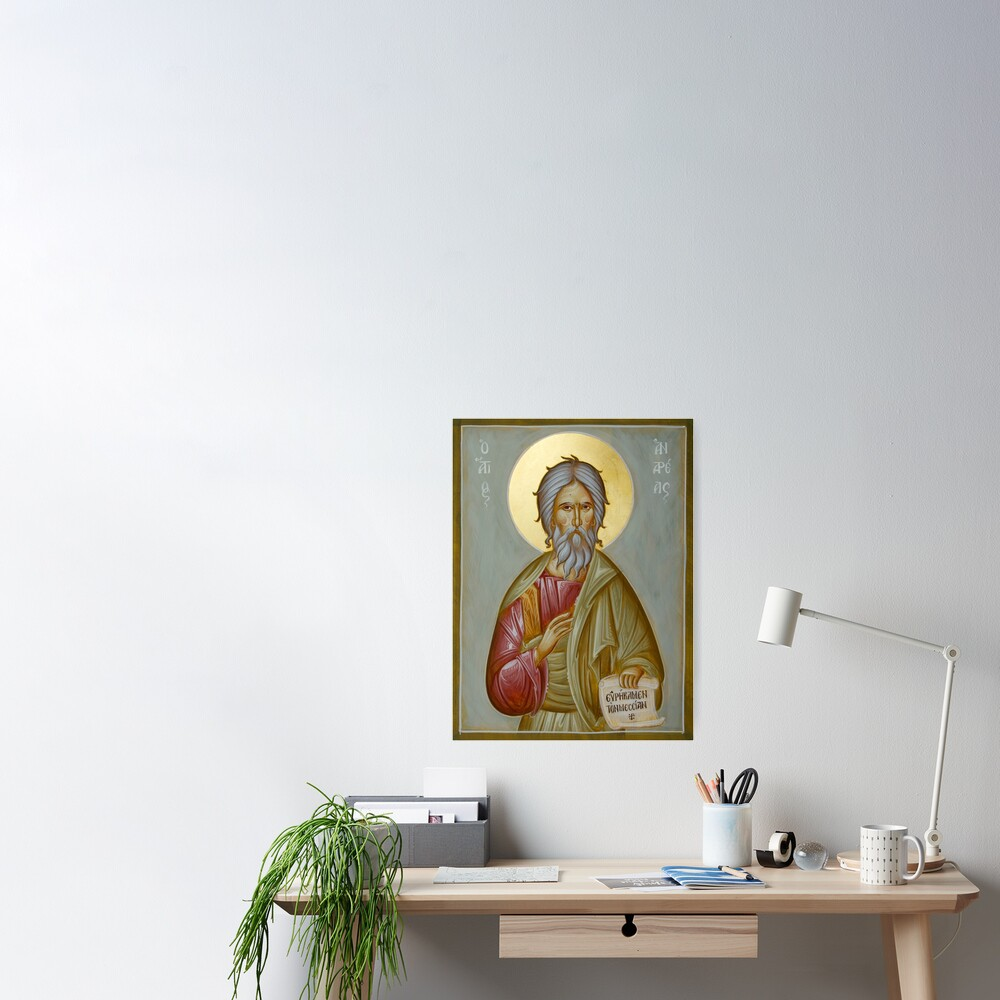 St Andrew the Apostle and First-Called Poster