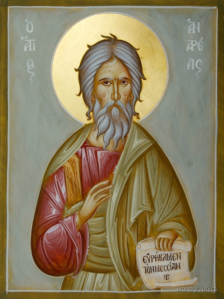 St Andrew the Apostle and First-Called by ikonographics