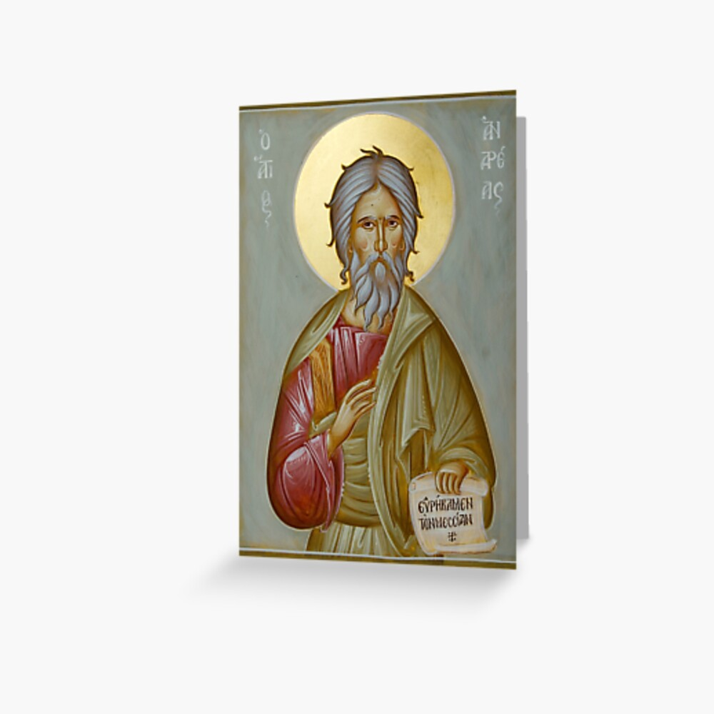 St Andrew the Apostle and First-Called Greeting Card
