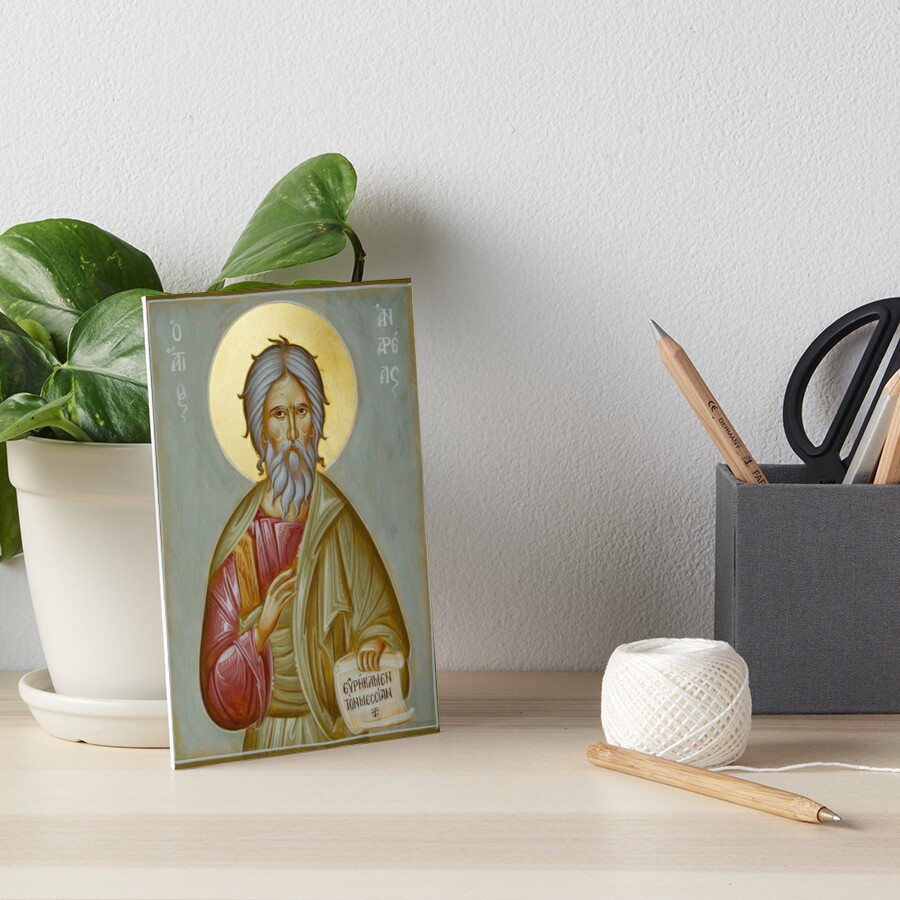 St Andrew the Apostle and First-Called Art Board Print
