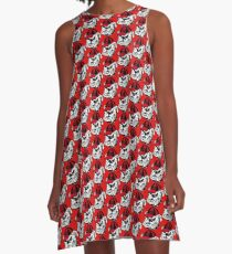Tribute to Bulldogs A-Line Dress