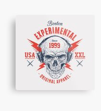 Boston Experimentell Metalldruck
