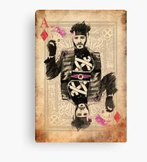 Ace of Diamonds Gambit Canvas Print
