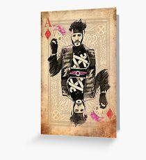 Ace of Diamonds Gambit Greeting Card