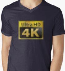 Ultra HD - 4k PCMR Men's V-Neck T-Shirt
