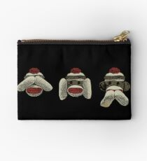 Three Wooley Monkeys Studio Pouch