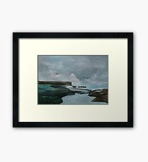 Natures Fury Framed Print