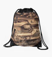 The old Cadillac  Drawstring Bag