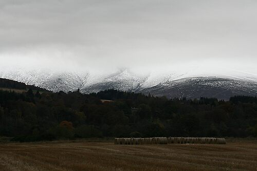 Snowy Hills by Claire Williams
