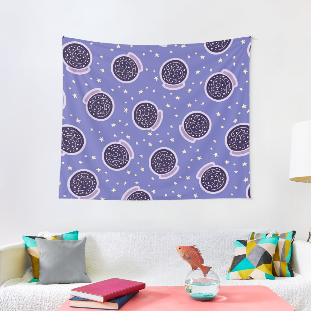 Crystal Ballin' Pattern Tapestry