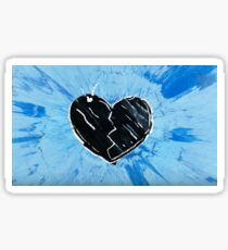 Ed Sheeran Divide Sticker