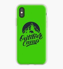 Outdoor Camp iPhone Case