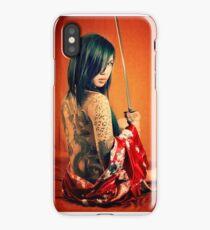 Geisha Punk iPhone Case/Skin