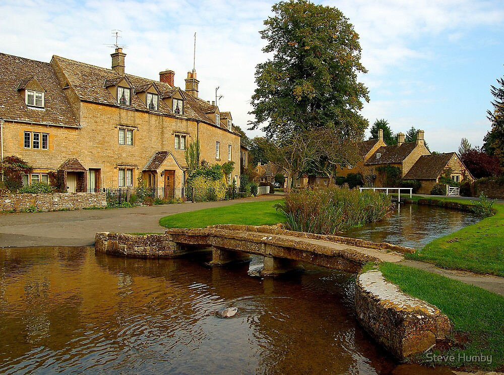 The Cotswolds - Lower Slaughter by Steve Humby