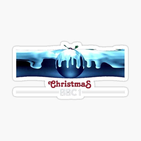 BBC1 Christmas Pud Sticker