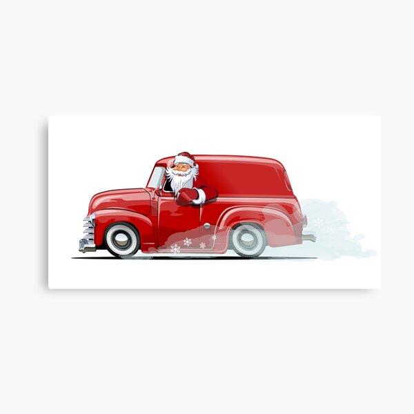 Tonka juguetes más cálido Navidad signo de pared de metal Vintage retro de camión de coleccionista