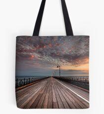 Sunrise On Ryde Pier Tote Bag