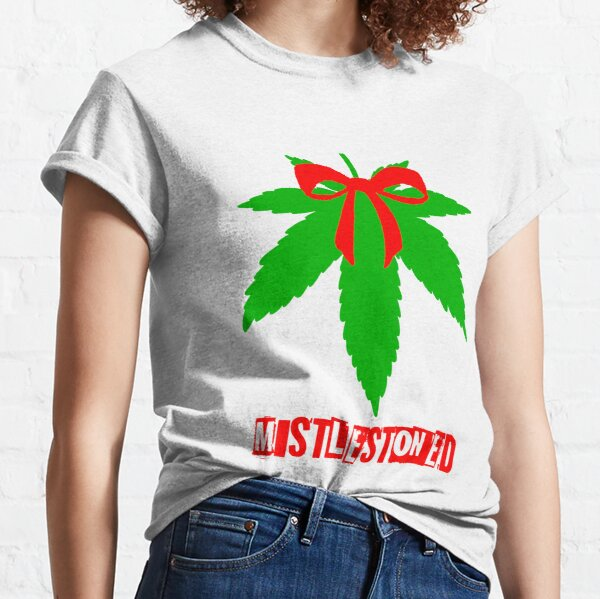 Weed Christmas Sweater T Shirts | Redbubble