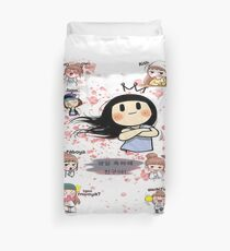 Happy birthday celebration Duvet Cover
