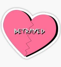 Betrayed Sticker