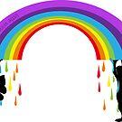 Raining Rainbows by Sonja Kallio