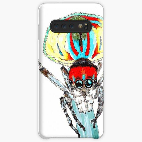Peacock spider Maratus volans Samsung Galaxy Snap Case