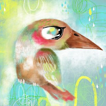 Kingfisher Bird by Hyssopartz