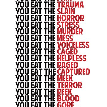 When You Eat Meat... by Cosmicblueprint