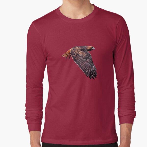 Red-Tailed Hawk 4 Tee Long Sleeve T-Shirt