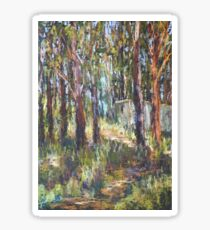 Gum Scrub - plein air paint out Sticker