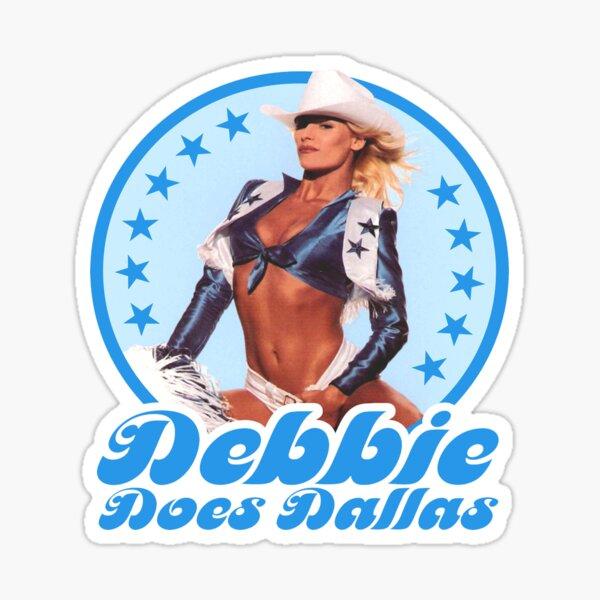 Debbie Does Dallas Vintage Film Poster Sticker