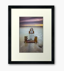 Seaview Outfall Isle Of Wight Framed Print