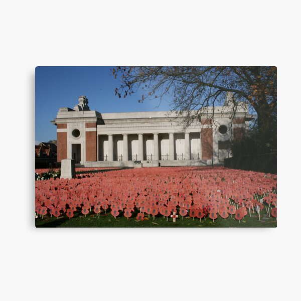 Lest We Forget Metal Print