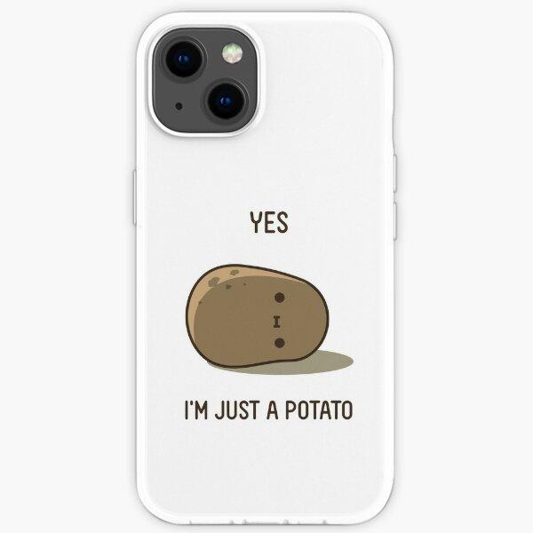 Cute Potato iPhone Soft Case