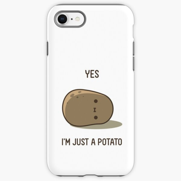 Cute Potato iPhone Tough Case