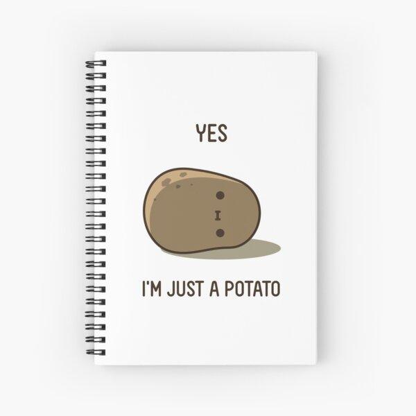 Cute Potato Spiral Notebook