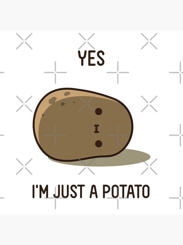 Cute Potato by clgtart