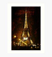 Le Tour de Paris Art Print