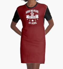 Vet Tech Have No Fear Birthday Cool Funny Graphic T-Shirt Dress