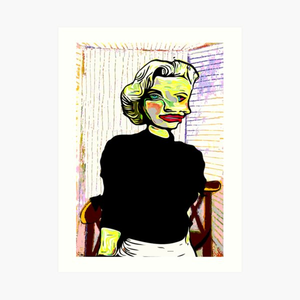 Marilyn Monroe by Picasso Art Print