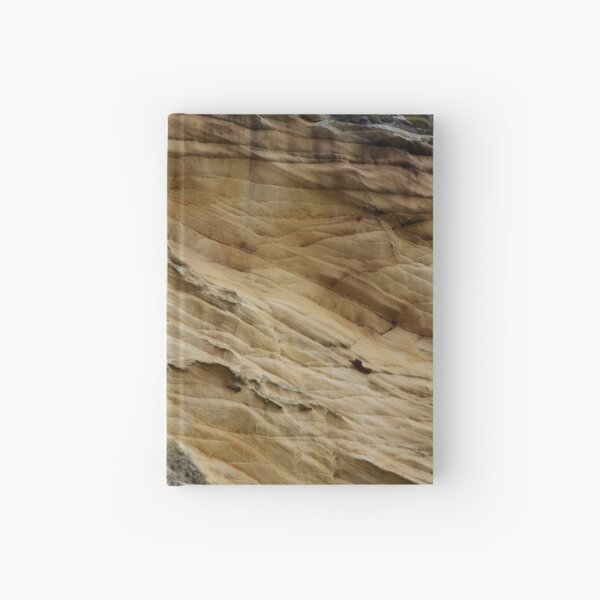It's Sedimentary! Clashach Cove, Moray  Hardcover Journal