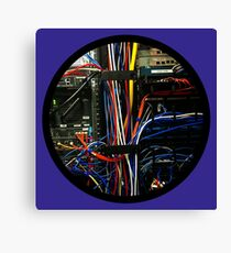 All Wired Up Canvas Print