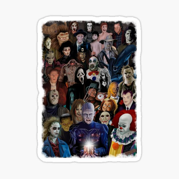 Horror Classics Sticker