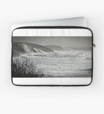 Another Storm coming to Cornwall Laptop Sleeve